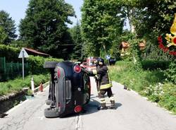 incidente vigili del fuoco castelveccana