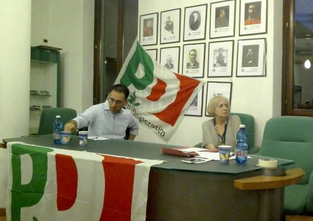 Il segretario regionale del Pd a Induno Olona
