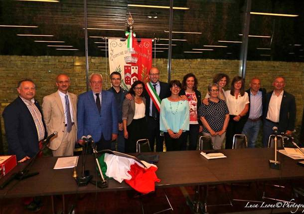Induno Olona - primo consiglio comunale giugno 2019 - foto Luca Leone