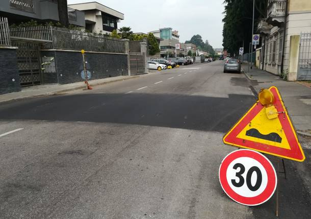 lavori sicurezza stradale castellanza