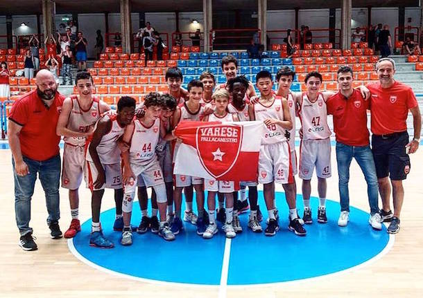 pallacanestro varese academy under 14 basket