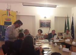 primo consiglio comunale monvalle 2019
