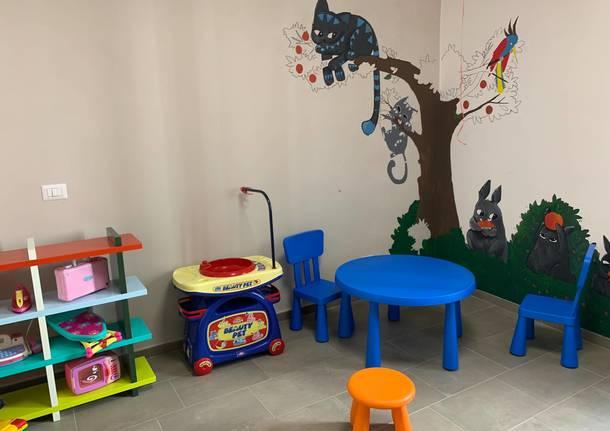 La casa di un mafioso diventa uno spazio neutro per genitori e figli