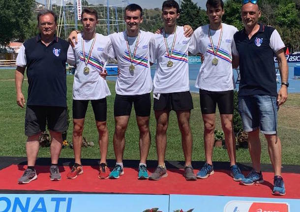 staffetta allievi 4x400 pro patria arc busto 2019