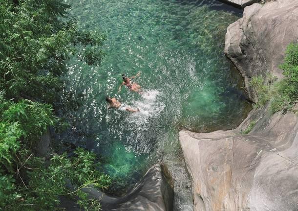 Un tuffo nel fiume
