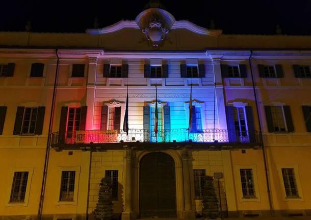 Varese Pride 2019, palazzo Estense diventa arcobaleno