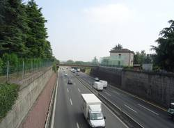 autostrada a8 olgiate olona barriere foniche