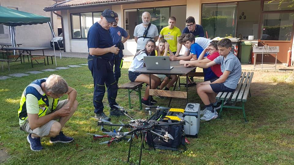 Campo estivo protezione civile Valtinella