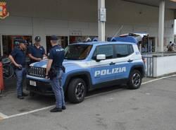 Polizia in azione nelle aree semi centrali