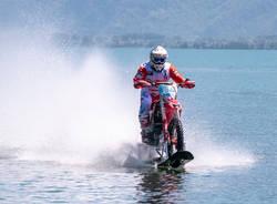 Il record di Luca Colombo sul lago di Como