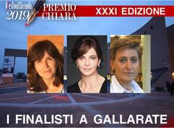 Le finaliste del XXXI Premio Chiara a Gallarate