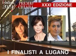 Le finaliste del XXXI Premio Chiara a Lugano