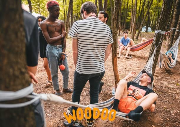Il venerdì sera al Woodoo Fest