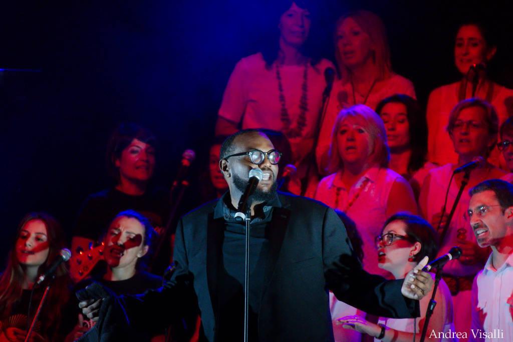 Isaac Cates presso Gospel Varese Festival 2019