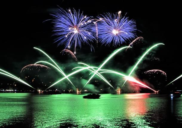Lavena Ponte Tresa 2019 Magia Italo Svizzera - Fuochi d\'artifico