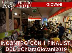 Incontro coi finalisti del Premio Chiara Giovani 2019