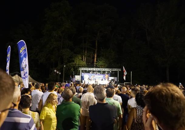 Salvini alla Festa della Lega di Golasecca