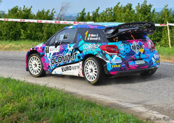 Il mitico Loeb domina il Rally Alba; Simone Miele ancora protagonista