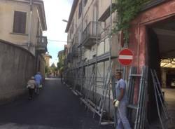 Casa Brucuata in via Bainsizza: i lavori di riqualificazione