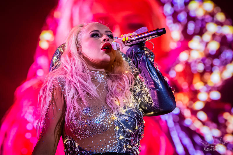 Christina Aguilera in concerto a Moon and Stars