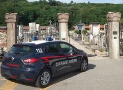 cimitero vergiate carabinieri