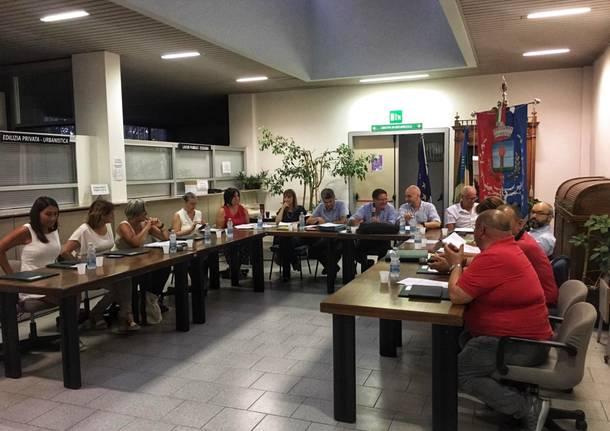 consiglio comunale Ferno