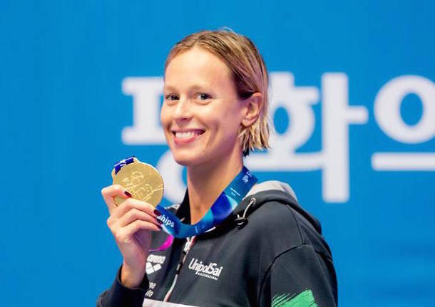 federica pellegrini nuoto oro mondiale 2019