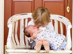 fratellino neonato
