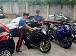 furto moto ducati castellanza carabinieri busto arsizio