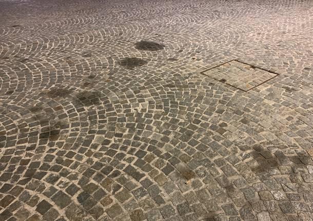 pavé macchiato piazza vittorio emanuele II