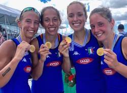 giulia mignemi medaglia d'oro mondiali under 23 canottaggio