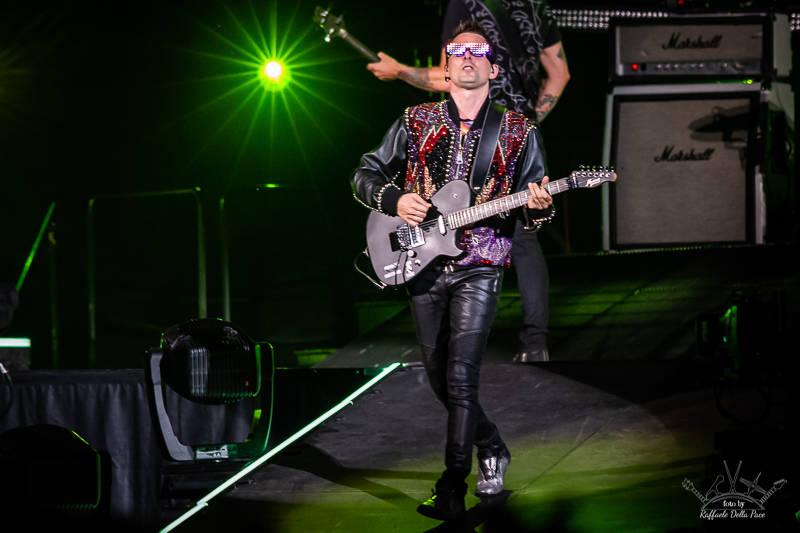 I Muse in concerto allo Stadio di San Siro di Milano