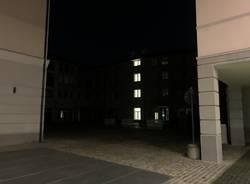 Il buio nel centro di Busto