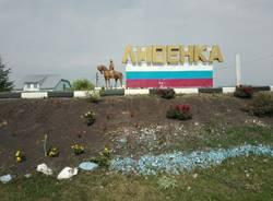 Il ciclista della memoria a Nikolaewka