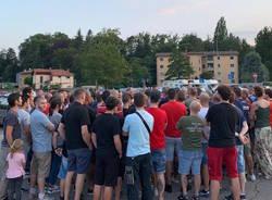 incontro stadio ultras benecchi luglio 2019
