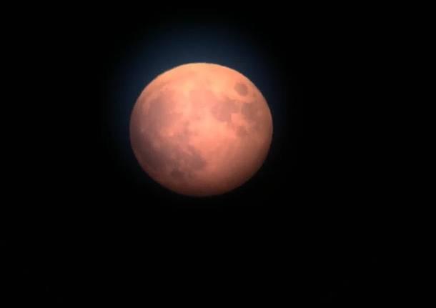 16 luglio, l'eclissi di Luna