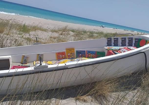 Fabiolandia: una libreria in riva al mare