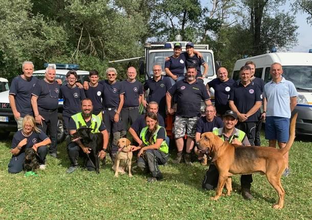 La protezione civile varese-Buguggiate festeggia 25 anni