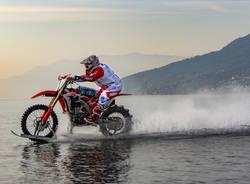 luca colombo motocross sull'acqua hydromx