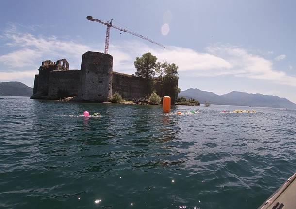 Maccagno e i Castelli di Cannero, tappa spettacolare dell'Italian Open Water Tour
