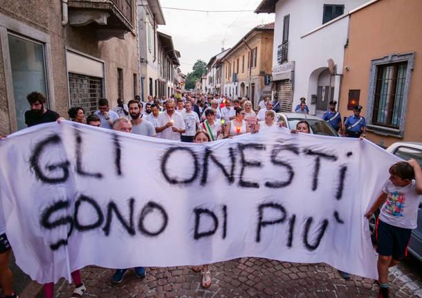 La marcia della legalità a Lonate Pozzolo