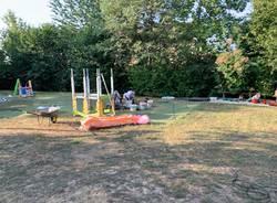 Parco giochi di Casciago, via ai lavori