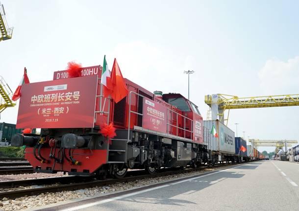 Da Hupac parte il primo treno per la Cina