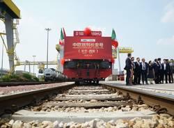 Parte da Hupac il primo treno per la Cina