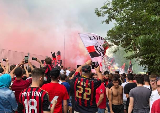 ritiro Milan Milanello 2019