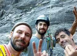 Una nuova via d'arrampicata tra Valle Antigorio e Val Formazza