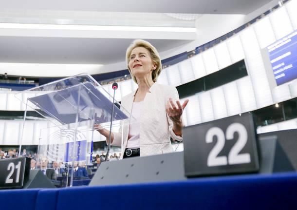 Ursula Von Der Leyen è la nuova presidente della Commissione Europea