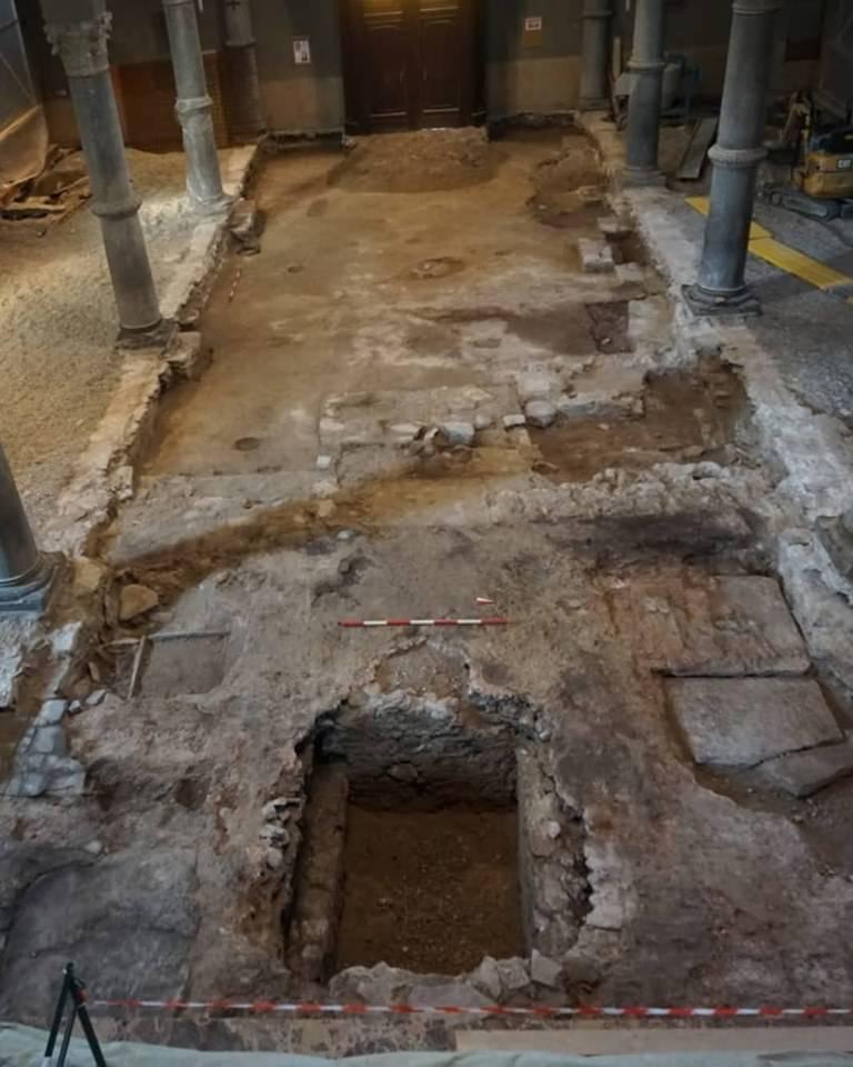 Arcisate - Lavori e ritrovamenti nella basilica di San Vittore