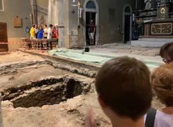 Arcisate - Visita guidata agli scavi basilica San Vittore