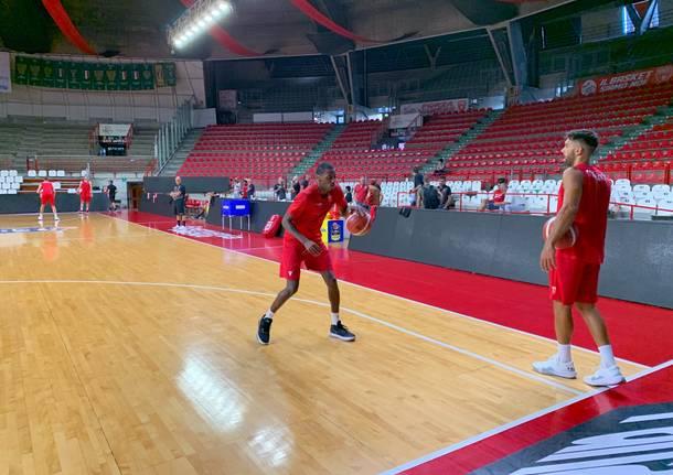 Basket Il raduno della Openjobmetis Varese 2019-2020